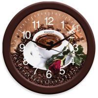 Часы настенные кварцевые ENERGY модель EC-101 кофе