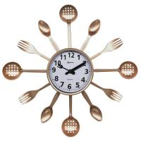 Часы настенные кварцевые HOMESTAR модель HC-14 ложки, вилки, шумовки