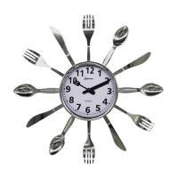 Часы настенные кварцевые HOMESTAR модель HC-15 ложки, вилки, ножи