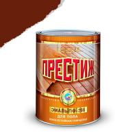 """Эмаль ПФ-266 (Красно коричневая 1,9 кг) """"ПРЕСТИЖ"""""""