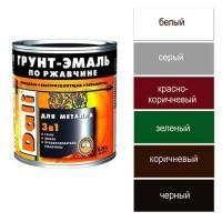 """ГРУНТ-ЭМАЛЬ по ржавчине (0,75л.) коричневый """"Рогнеда"""" (20414)"""