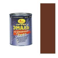 Грунт-эмаль по ржавчине 3 в 1 коричнево-красная 3л (НБХ)