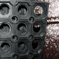 Коврик резиновый грязезащ. со сквозн.отверстиями (600х800 мм) толщ.16мм РТИ