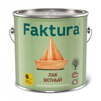 Лак Faktura яхтный полуматовый (2.7 л. )