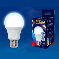 Лампа светодиодная LED-А60-8W/DW/E27/FR PLP01WH (Цвет: дневной)