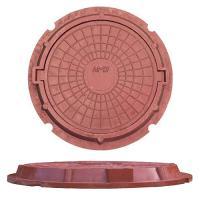 ЛЮК полимерно песчаный тип  ЛМУ(А30) цвет красный (3т)