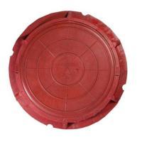 Люк ПП садовый красный (до 3тонны)Ф760мм*90мм вес 40 кг_Т