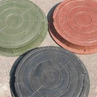 Люк ПП садовый серый(до 1,5тонны)Ф755мм*60мм вес 20 кг_Т