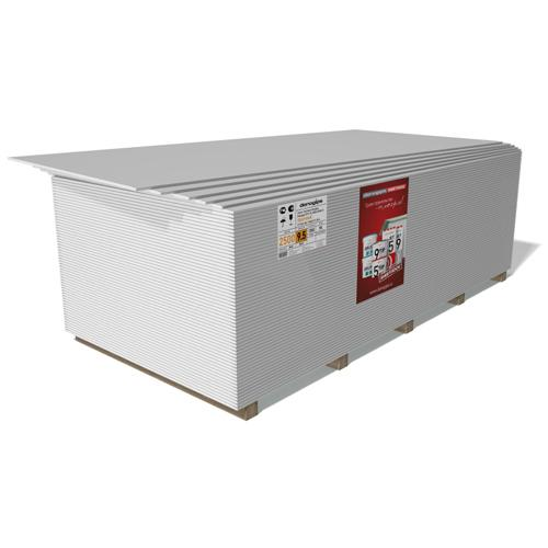 Гипсокартон ПГО-УК- 2500х1200х9,5мм (76)
