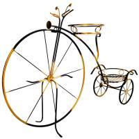 Подставка напольная на 2 горшка Велосипед М0000064 г.Москва