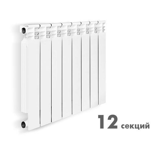 """Радиатор биметаллический """"Halsen"""" BS 500/80/12 RUS"""