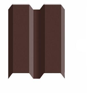 Штакетник 8017 Шоколад шт-87 1,5м