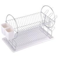 Сушилка для посуды двухуровневая настольная DR-1, размер:50*23*36 см 310851