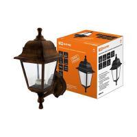 Светильник садово-парковый НБУ 04-60-001 четырехгранник, настенный, пластик, медь TDM (SQ0330-0724)