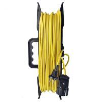 Удлинитель-шнур на рамке ТМ Союз ПВС 2*1 1гн. 30м 2200Вт (5203)