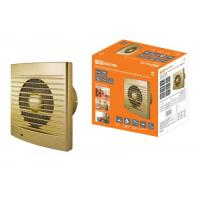 Вентилятор бытовой настенный 120 С-4, золото TDM (SQ1807-0120)