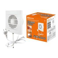 Вентилятор бытовой настенный 150 СВп, с выключателем и проводом 1,3 м, TDM (SQ1807-0015)
